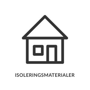 Isoleringsmaterialer Priser